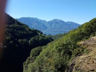הנוף מהסכר